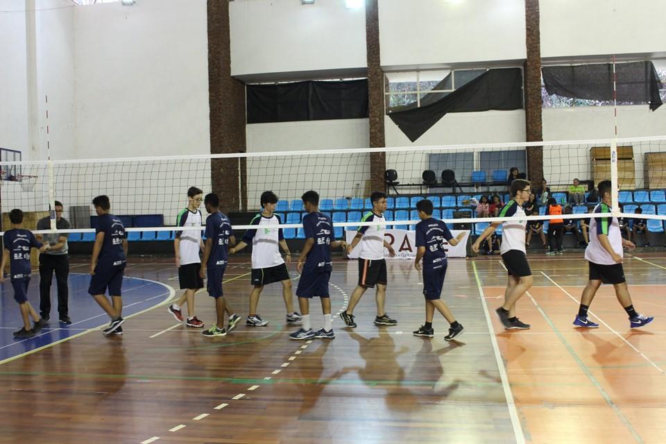 Copa JF Vôlei Escolar realizada no sábado dia 25 de maio
