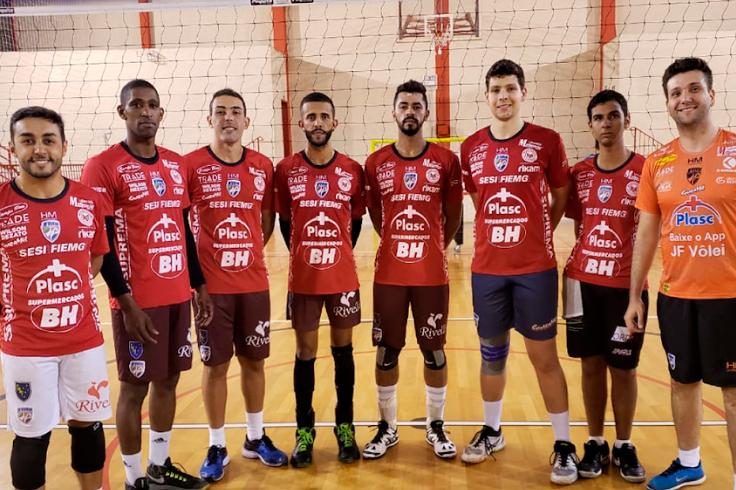 """JF Vôlei inicia temporada com grupo formado por atletas de """"casa"""""""