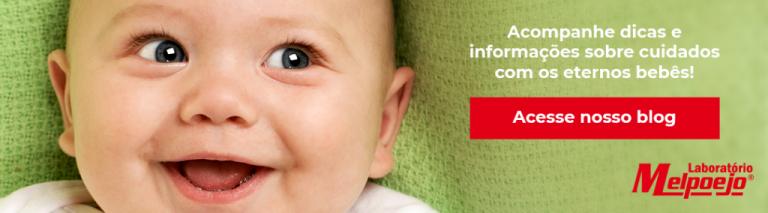"""Banner para blog Melpoejo no artigo """"Todo bebê tem cólica"""" para"""